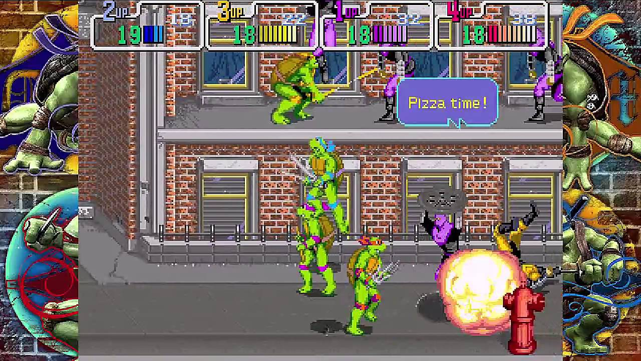 Teenage Mutant Ninja Turtles (arcade game) - Wikipedia