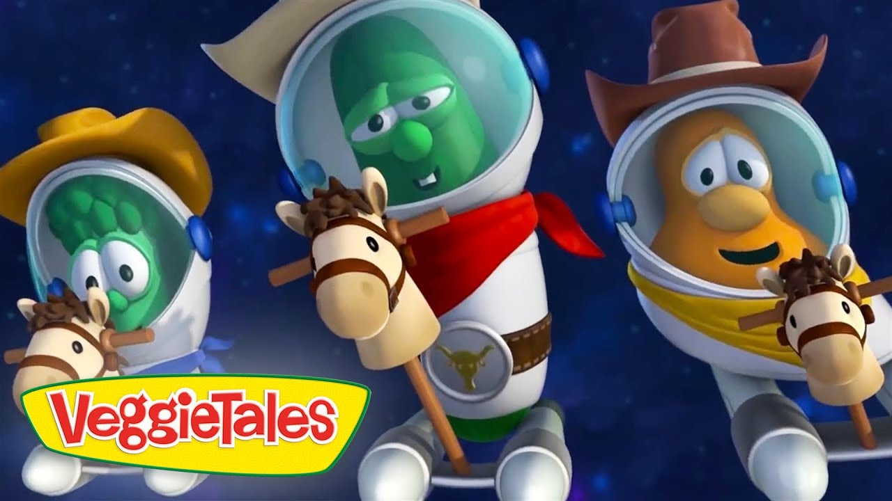 Veggietales | Asteroid Cowboy | Silly Songs With Larry Compilation | Cartoons For Kids