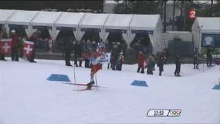 Médaille d'Or de Jason Lamy Chappuis - Vancouver 2010