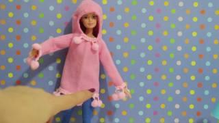 Oyuncak Bebeklerime Kolay Kendin Yap Kıyafet Giydirme Oyunu DIY Çoraptan Kazak Yapımı BidünyaOyuncak