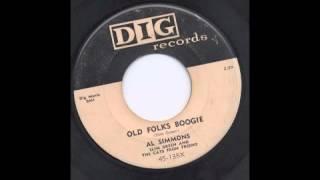 AL SIMMONS - OLD FOLKS BOOGIE - DIG