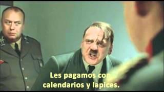 Hitler se entera que estudiantes, corren y abuchean a Enrique Peña Nieto en la Ibero. Kiwito Verde