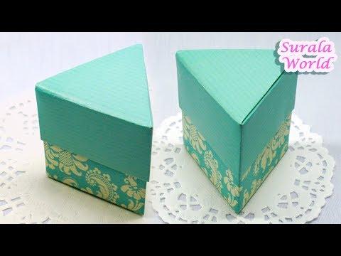 Modular Origami Box Tutorial - Infinity Lid - Paper Kawaii - YouTube | 360x480