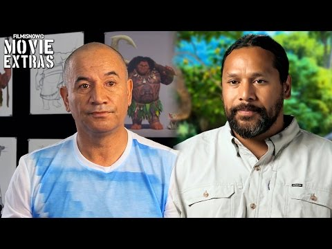 Moana | On-set visit with Temuera Morrison