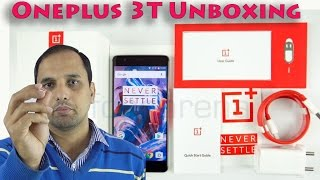 Oneplus 3T 64 GB Gunmetal (Amazon): Unboxing Only