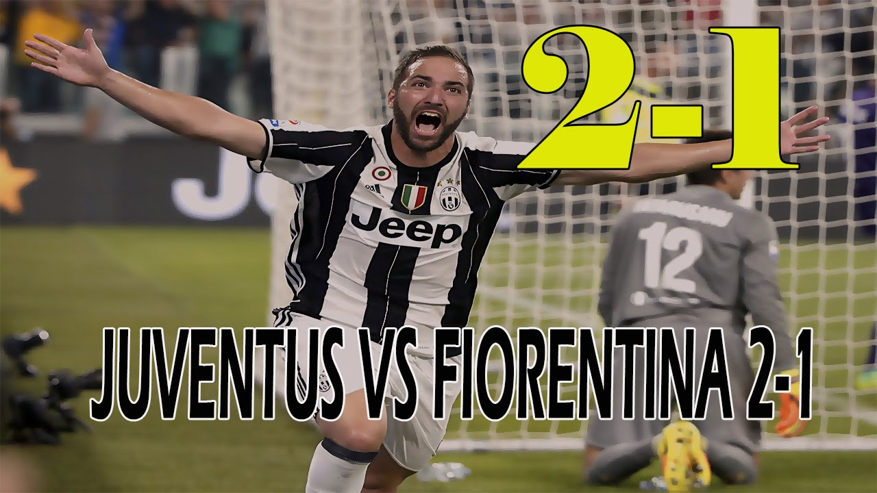juventus vs fiorentina 21 highlights serie a 20162017
