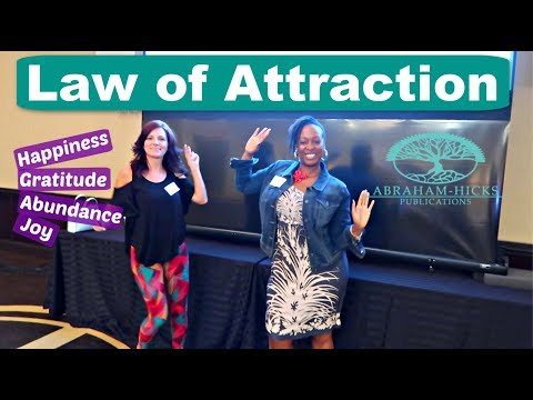 Who is Abraham Hicks | Law of Attraction | Greenwich Connecticut Workshop