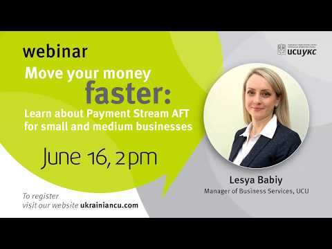 Move Your Money Faster – Payment Stream AFT for small and medium businesses