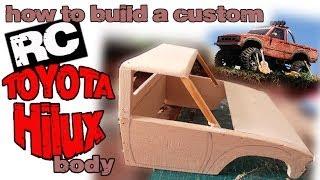 rc TOYOTA HILUX custom build body Tamiya CC01