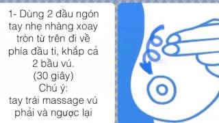 Phương Pháp Massage Kích Sữa Từ Chuyên Gia Sữa Mẹ nhu the nao
