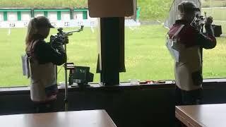 Армейская спортсменка Юлия Каримова на 50-м чемпионате мира CISM по стрельбе