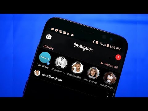 How To Enable Instagram Dark Mode!