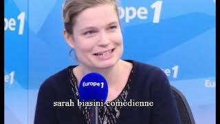 Sarah Biasini interview