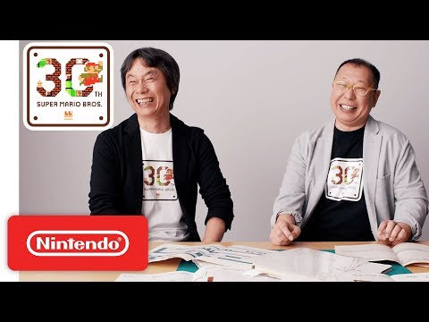 Super Mario Bros. 30th Anniversary Special Interview