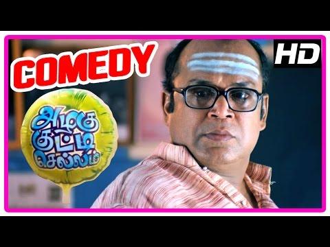 Azhagu Kutti Chellam Movie | Comedy scenes | Ken Karunas | Yazhini | Karunas | Suresh | John Vijay