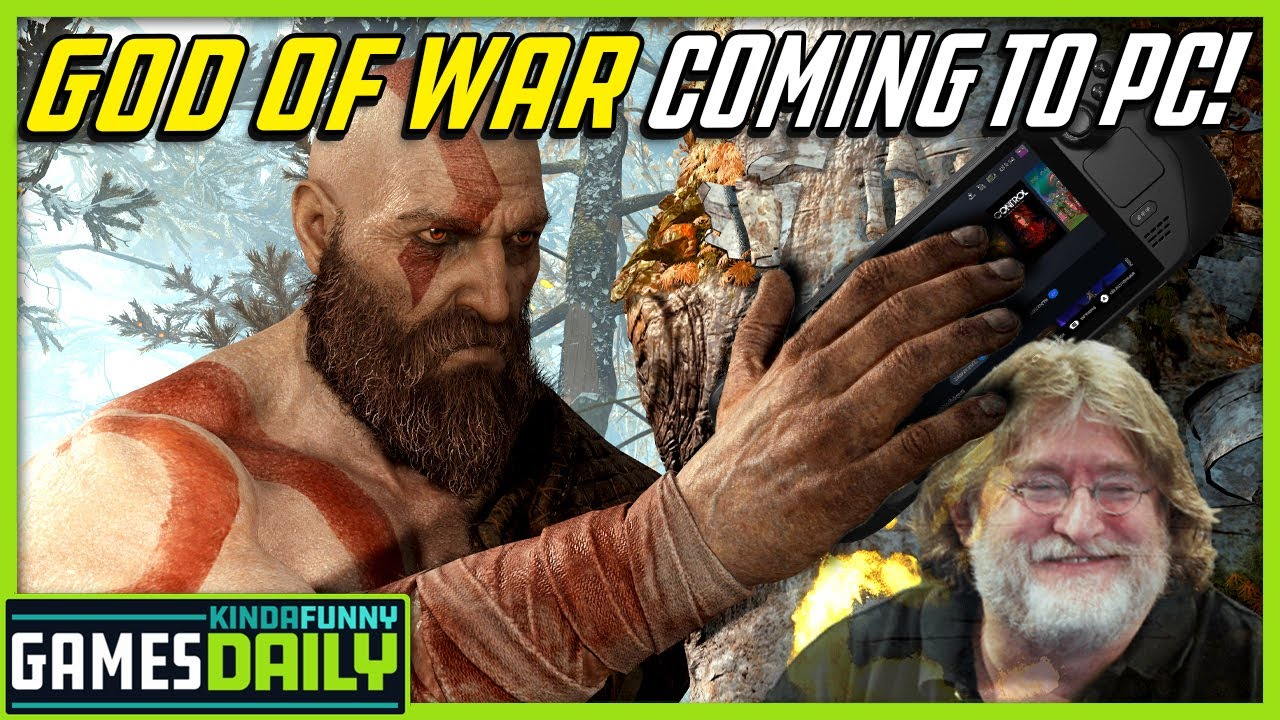 God of War Comes to PC - Kinda Funny Games Daily 10.20.21