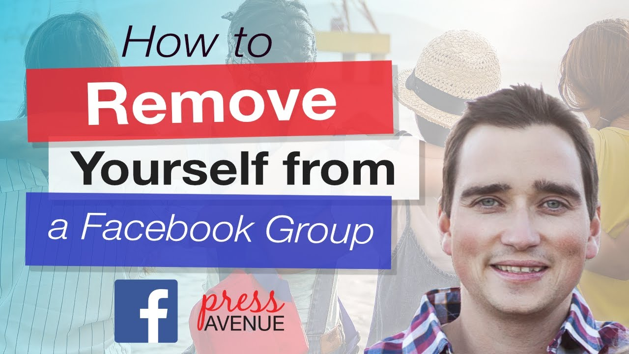 How to Remove Yourself from a Facebook Group