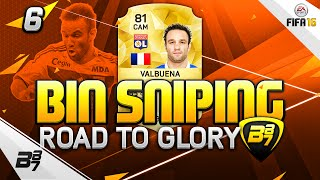FIFA 16 | THE ULTIMATE ROAD TO GLORY! BIN SNIPING OP! #6