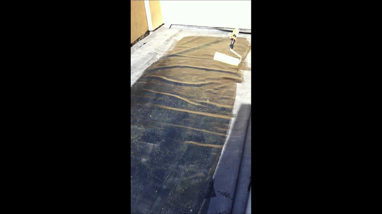 Pasos para impermeabilizar tu terraza laminas epdm for Impermeabilizar terraza transitable