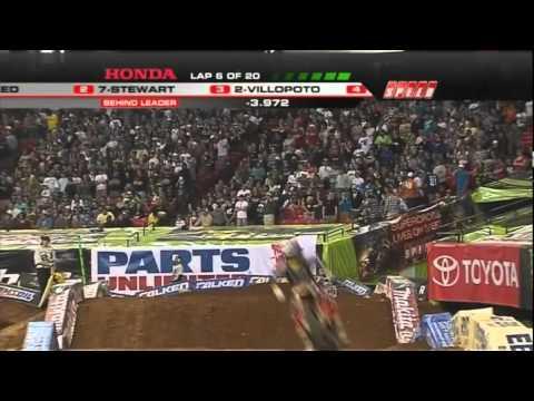 AMA Supercross 2011 RD8 Atlanta 450 Main Event 12
