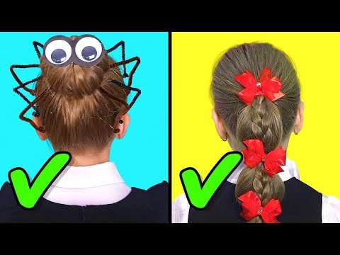 32 EASY HEATLESS BACK TO SCHOOL HAIRSTYLES thumbnail