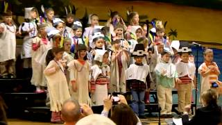 10 Little Indian Boys and Girls - Carter Thanksgiving Program 111512