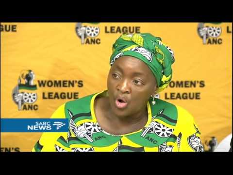 ANCWL media briefing, Pretoria