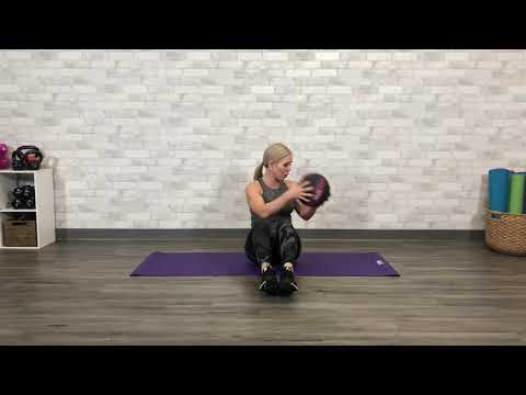 How To Do a Medicine Ball Russian Twist - Get Healthy U