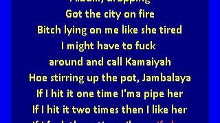 G Eazy ft A$AP Rocky, Cardi B - No Limit (karaoke)