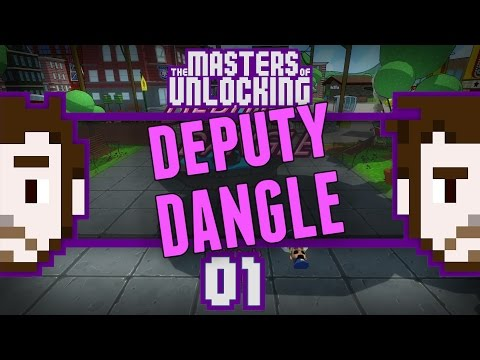 Lets Play Deputy Dangle Part 1 - Dont Make it Weird - First Look PC Gameplay