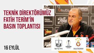 📺 Teknik direktörümüz Fatih Terimin basın toplantısı  UEL NPFKvGS