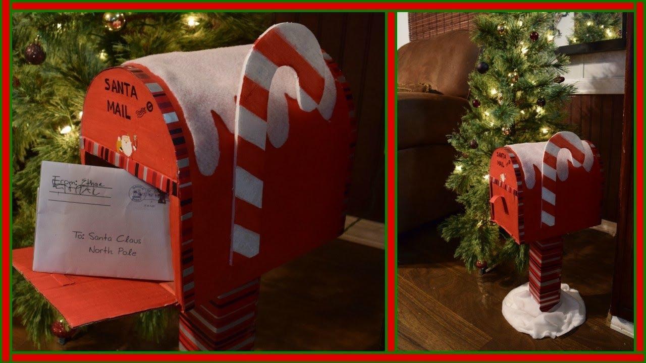 Buzón Para Cartas A Santa Mailbox