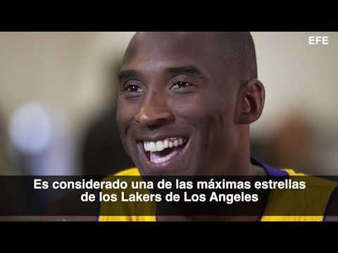 Murió Kobe Bryant, la leyenda de la NBA