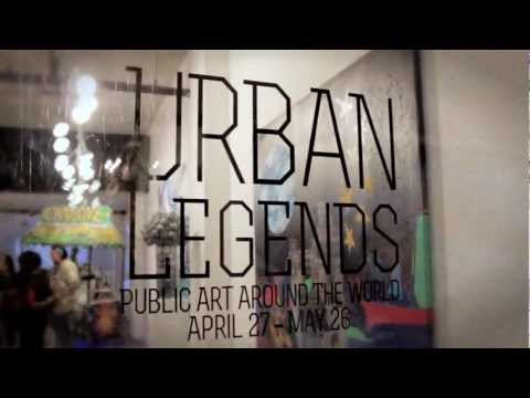 Urban Legends Art Exhibition and Auction | LA Street Art Gallery