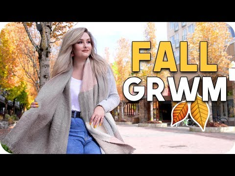 Fall GRWM!! Makeup + Outfit!