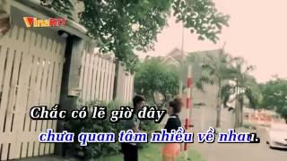 KARAOKE HD Giá Như Chưa Từng Quen HKT YouTube