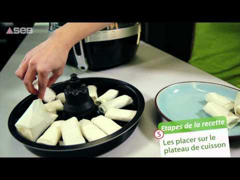 seb-actifry-2-en-1---recette-compotée-de-banane-et-croustillant-de-chocolat