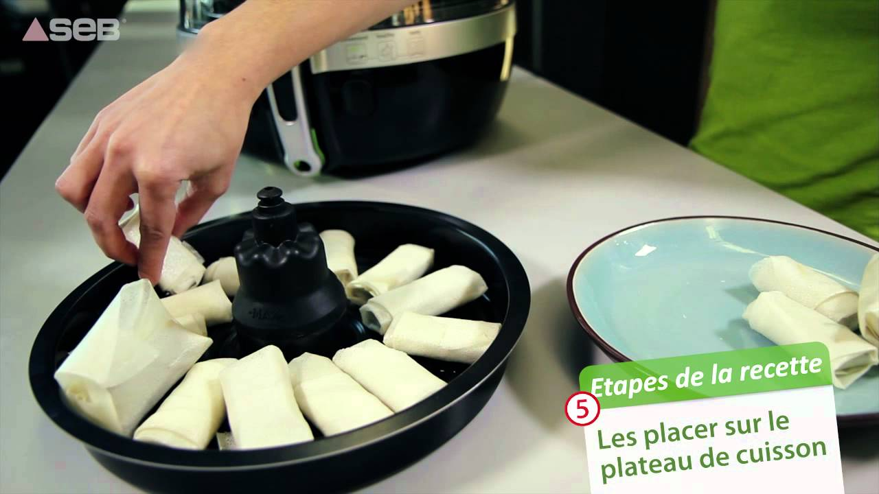 Friteuse seb actifry recettes