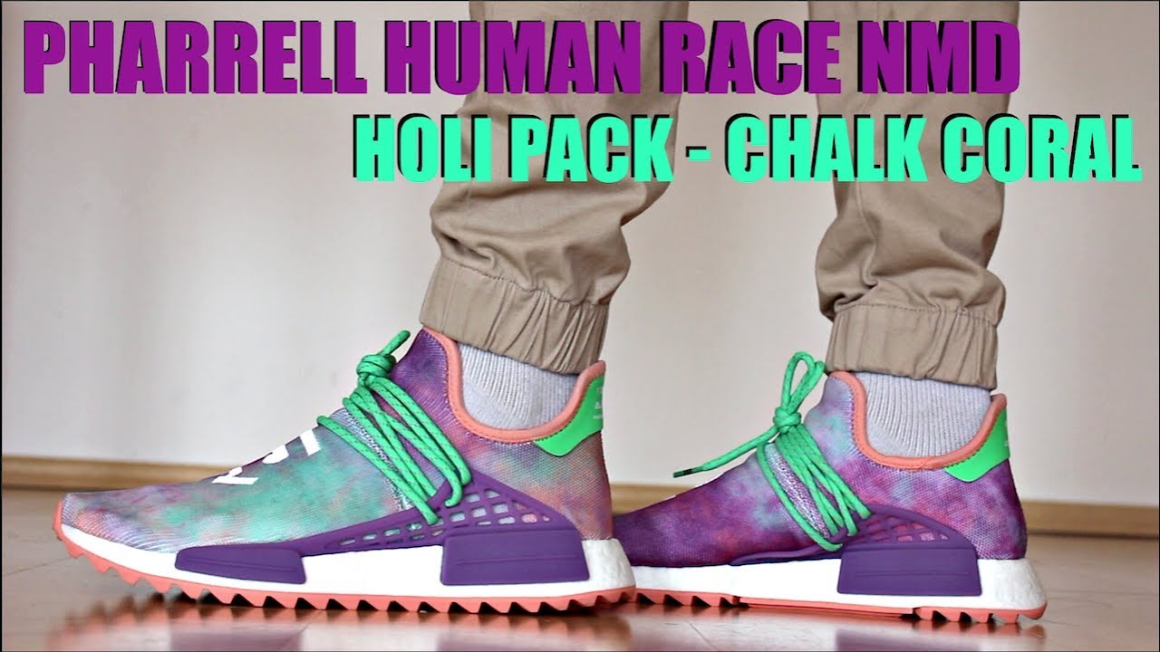 b39d44e20 ADIDAS HUMAN RACE NMD HOLI REVIEW + ON FEET - YouTube