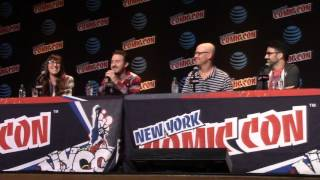 Gravity Falls panel at New York Comic Con 2016: Part 1 of 5 (unedited version)