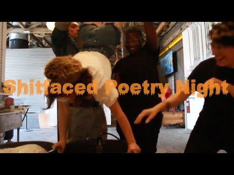 Shitfaced Poetry Night / Kill Line Release Party