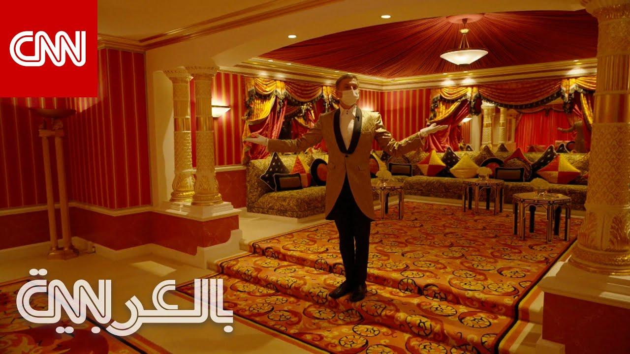 برج العرب بدبي يفتح جناحه الملكي لأول مرة أمام عامة الناس