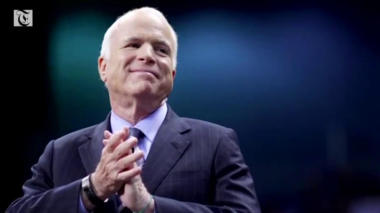 """""""Maverick"""" Senator John McCain dies"""