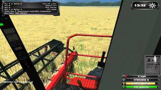 ls 2011 case ih 2388 harvester mod gameplay