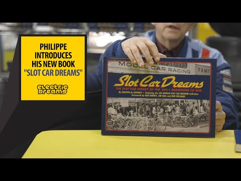 Slot Car Dreams, by Philippe de Lespinay is here!