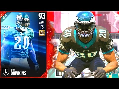 BRIAN DAWKINS! WEAPON X INTIMIDATING OPPONENTS!! - Madden 17 Ultimate Team