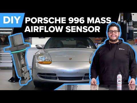 Porsche 996 911 MAF (Mass Air Flow Sensor) Replacement DIY – Carrera & Targa