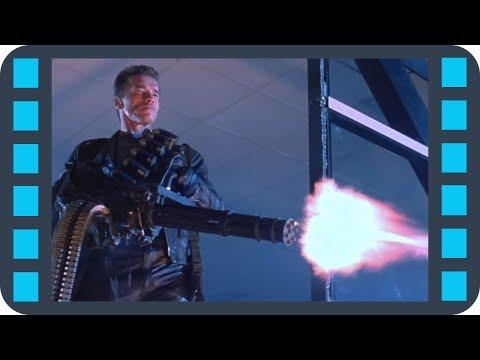 M134 Minigun — Терминатор 2: Судный день (1991) Сцена 7/10 HD