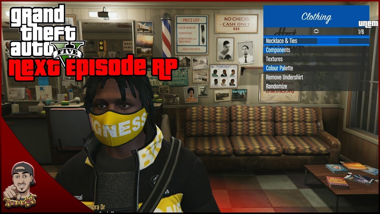 Next Episode RP | How to change your character