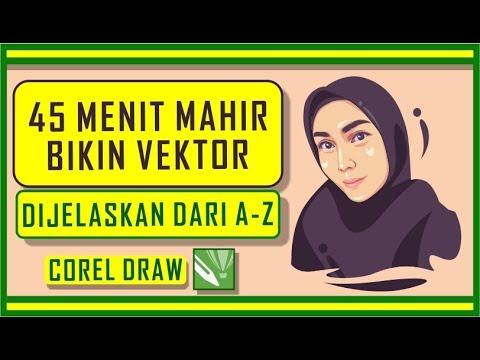 Cara Membuat Siluet Dengan Corel Draw.